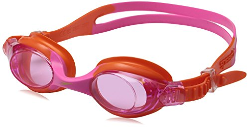 Speedo Kids' Skoogles Swim Goggle, Orange, One - Orange Goggles