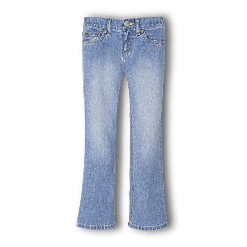 The Children's Place Big Girls' Bootcut Jean, Medium Worn Stone, 6X/7