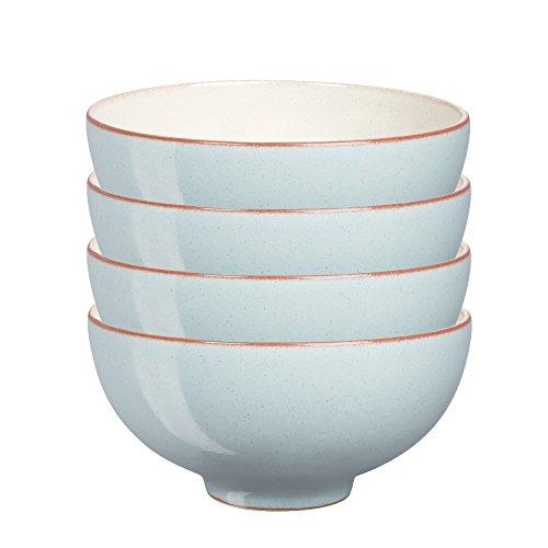 Denby USA Heritage Pavilion Rice Bowls (Set of 4), Multicolor