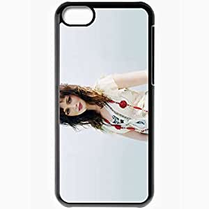 Personalized iPhone 5C Cell phone Case/Cover Skin Alexis Bledel Beads Dress Field Wind Actress Photoshoot Black by lolosakes