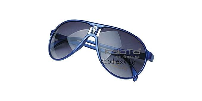 Amazon.com: Azul Niños chico Gril lindo anteojos de sol ...