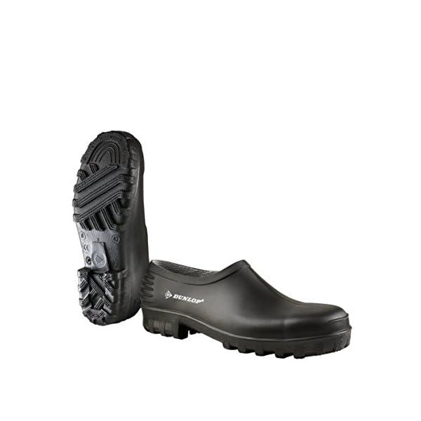 Negro 38 unisex Zoccoli 00 814P PLASTIC KLOMP ZWART 44 Dunlop Negro Zwart