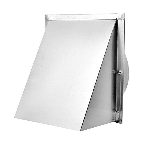 Lambro 587 10 in. Aluminum Wall Cap by Lambro Industries Inc