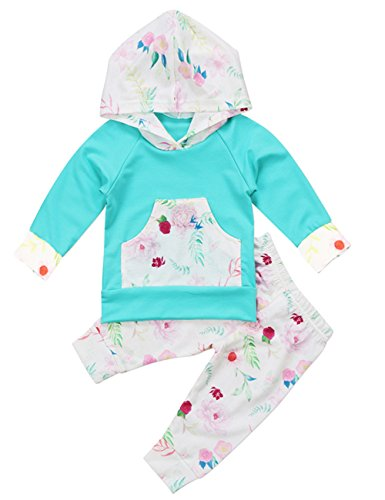 Baby-Girls-Long-Sleeve-Flowers-Hoodie-Top-and-Pants-Outfit-with-Kangaroo-Pocket