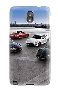 High Quality KmIhCRB464asLcI Maserati Grancabrio 33 Tpu Case For Galaxy Note 3