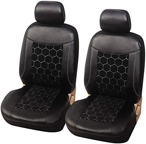Esituro Scsc017238 Einzelsitzbezug Universal Sitzbezug Sitzbezüge Für Auto Schonbezug Schoner Aus Kunstleder Schwarz Auto