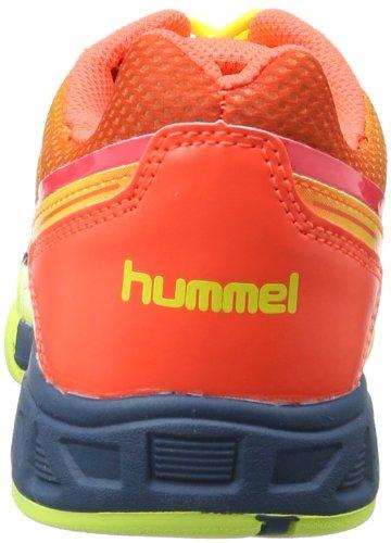 Hummel CELESTIAL COURT X5 JR 60-079-5997 Mehrfarbig (Safety Yellow/Firey Coral 5997)