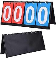 Sport Scoreboard Portable Scoreboard Score Keeper Flip Scoreboard Scoreboard Score Flip Board Basketball Score