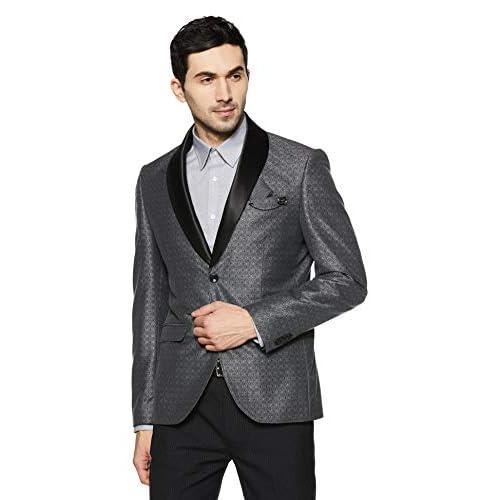 41db9E7NZAL. SS500  - blackberrys Men's Shawl Collar Slim Fit Blazer