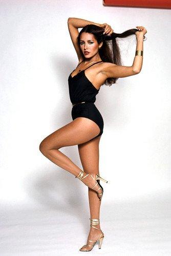 Barbara Carrera Striking Leggy Pin Up High Heels Bond Girl 24x36 Poster from Silverscreen