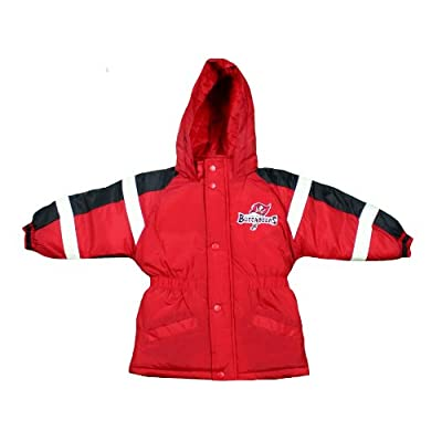 Tampa Bay Buccaneers NFL Toddlers Bomber Jacket, Red