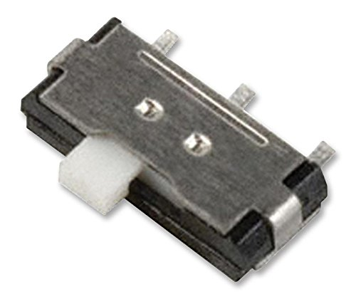 AYZ0203AGRLC - Slide Switch, DP3T, Vertical, SMD, 100 mA RoHS Compliant: Yes (Pack of 20) (AYZ0203AGRLC) by C & K COMPONENTS