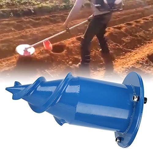Fdit 3in Leistungsstarker Rasenmäher Bohrer Bohrpflanzwerkzeug Rasenmäher Teile Zubehör für den Tabakanbau