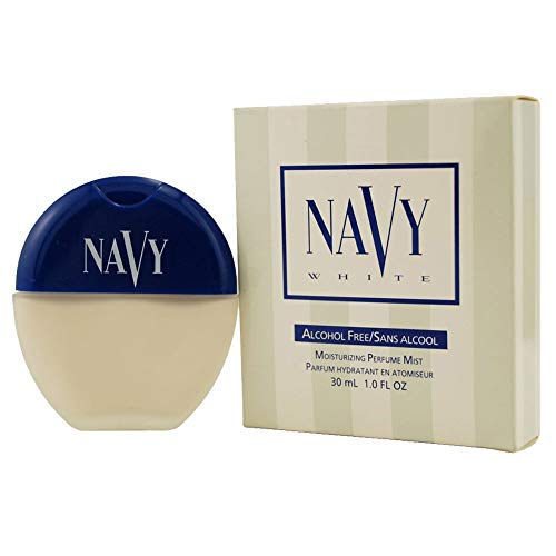 - Noxell Navy White Perfume Mist for Women, 1 Ounce
