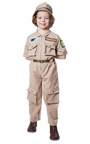 Toddler Zoo Keeper Costumes (Dress up America Toddler T2 Zoo Keeper Costume Set by Dress Up America)