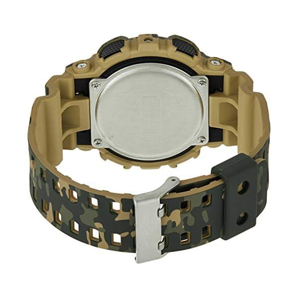 Casio Reloj Analógico para Hombre de Cuarzo con Correa en Resina GA-100CM-5AER 3