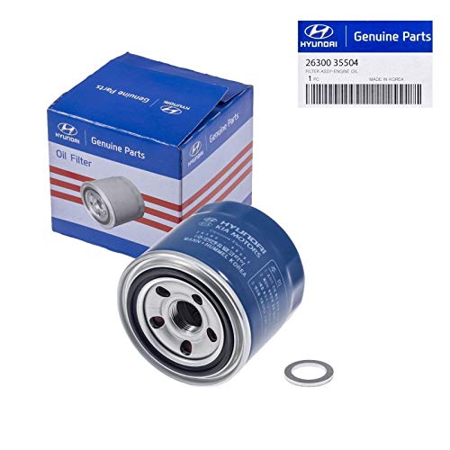 Genuine Hyundai 26300-35504 OEM Replacement Oil Filter (Tiburon Base Hyundai)