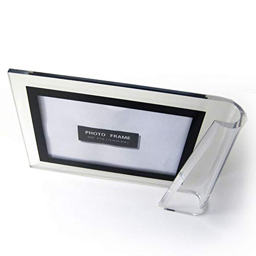 Encounter G 4X6-Inch Transparent Creative Single Roll Side Horizontal Vertical Photo Frame 3 Pieces of Any Combination Set from Encounter G