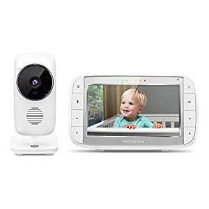 "Motorola MBP48 Digital Video Audio Baby Monitor with 5"" Color Screen"