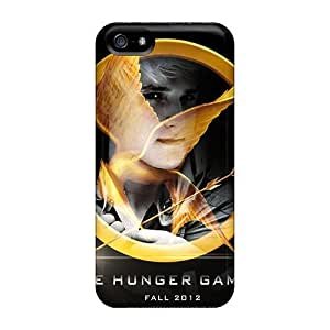 Anti-scratch Case Cover WonderwallOasis Protective The Hunger Games Peeta Case For iphone 5/5s iphone 5/5s/