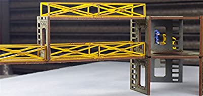 Industry of War - Double Walkways by WWS - Wargaming, Terrain, 28mm, Miniatures by Wws
