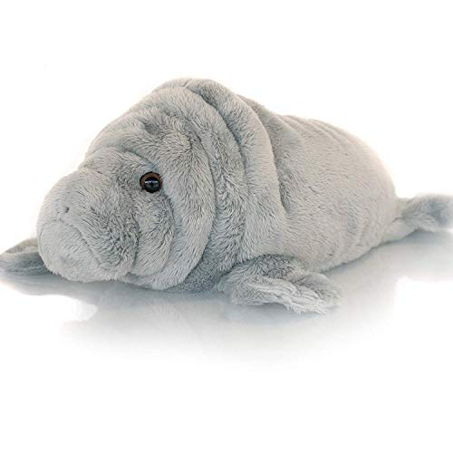 Sootheze Manatee Aromatherapy Scented Stuffed Animal Sensory toy - Therapeutic Heat Pad for Menstrual Cramp Relief - Microwavable Heating Pad-Hot Cold Therapy Weighted Pad for Pain Relief