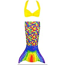 Fin Fun Toddler Mermaid Costume - Mermaidens Tail and Clamshell Bikini Top