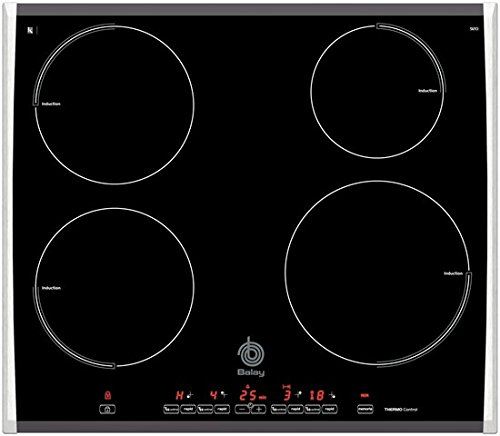 Balay 3EF920F hobs Negro Integrado Con - Placa (Negro ...