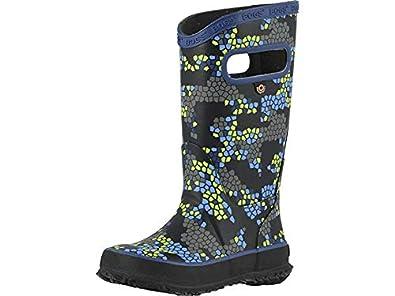 713daedccf Bogs Kids' Rubber Boot Waterproof Boys and Girls Rain