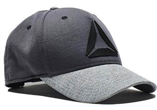 Reebok Men's Heathered Flex Mesh Back Embossed Logo (Reebok Baseball Hat)
