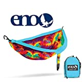 Eagles Nest Outfitters - ENO DoubleNest Print, Portable Hammock for Two, Tie Dye