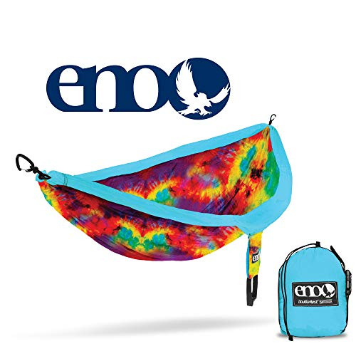 ENO - Eagles Nest Outfitters DoubleNest Print Portable Hammock for Two, Tie Dye