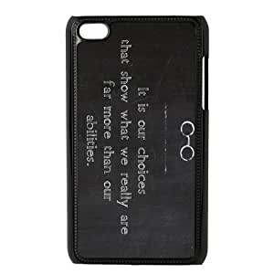 1pc Plastic Snap On Case Cover Skin For ipod touch 4, Harry Potter ipod touch 4th Covers
