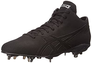 ASICS Men's Crossvictor QT Baseball Shoe, Black/Black, 6 M US