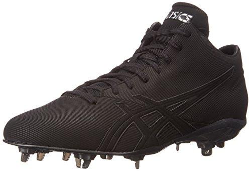 Asics Mens Crossvictor Qt Baseball Chaussure Noir / Noir