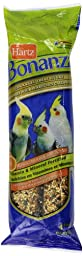 Hartz Bonanza 4-Pack Treat Stick, Cockatiel