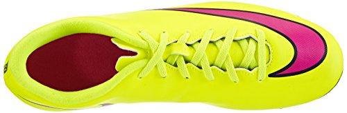 Nike Heren Mercurial Vortex Fg Voetbal Cleat Volt / Hyper Roze / Zwart
