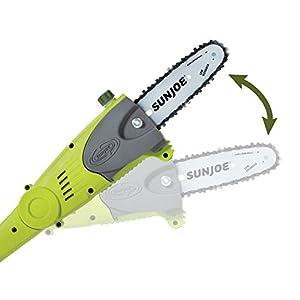 Sun Joe iON8PS2 iON 40-Volt Multi-Angle Cordless 8-Inch Pole Chain Saw
