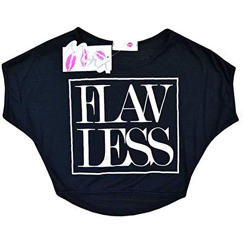 Âge Élégant Imprimé Nouveau 9 Kids Enfants 13 Ans T 7 11 Crop 4 Filles 10 Top Shirt 12 Mode 8 A2z Noir Flawless Saison 6SqpAwSvx