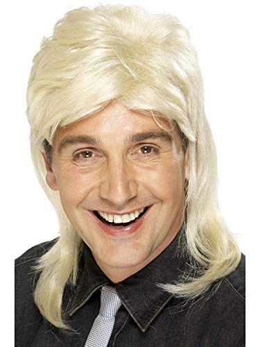 ESSA OAT clothes series 80's Mullet Wig Adult Costume Accessory