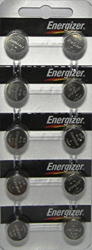 Strip of 10 Energizer A76 (LR44) 1.5v Alkaline - Lr44 Button Battery