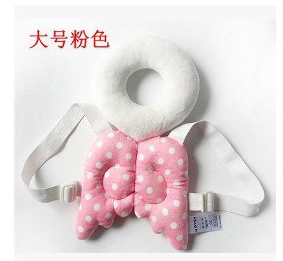 Newin Star Coj/ín de Protecci/ón cabeza,Coj/ín de beb/é,Protecci/ón Almohada Reposacabezas ajustable para Proteger la cabeza cuello y columna andadores ala rosa//Toma/ño L