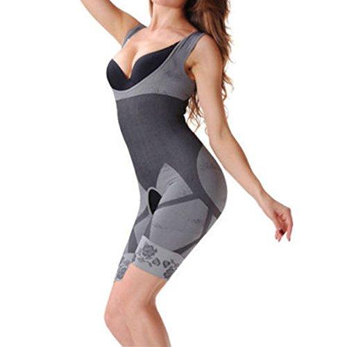 MZjJPN Women Full Body Shaper Waist Trainer Girdle Thigh Reducer Bodysuit Shapewear -