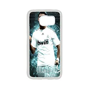 Unique Phone Case Pattern 8Sport Real Madrid Club de Futbol Cristiano Ronaldo Print 2D Hard Shell Cover - For Samsung Galaxy S6