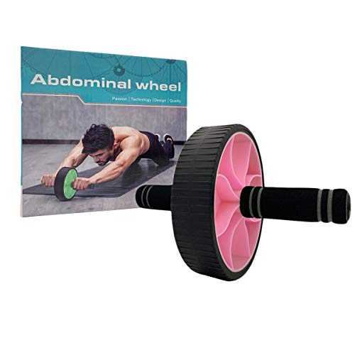 Avenmax Ab Roller Wheel for Abdominal Exercise Home Gym Core Workout Abs Roller Wheel Training Fitness Exercise Equipment Pin
