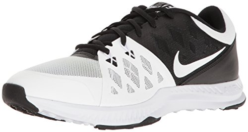 NIKE Men's Air Epic Speed TR II Cross Training Shoe, Black/White, 11.5 D(M) US