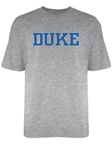 NCAA Duke Blue Devils Licensed T-Shirt, X-Large, Dark Ash