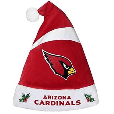 Forever Collectibles 9016323882 Arizona Cardinals Basic Santa Hat - 2016