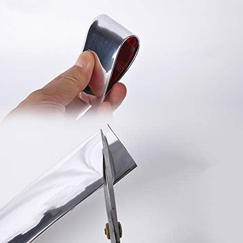 SBWLKJ 2Inch//50mm Moulding Trim Car Door Body Side DIY,Flexible,Durable,Interior/&Exterior,Tail Lights Black 32Ft