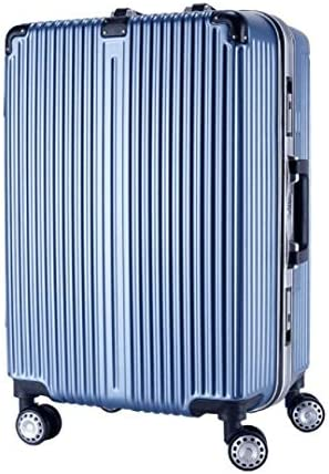 Lcslj Trolley Universal Wheel Aluminum Frame 360 Degree Mute Caster Luggage Student Color : Blue, Size : L